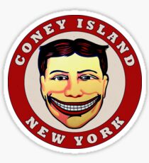 Coney Island New York Vintage Travel Decal Sticker