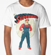 Super Mario Long T-Shirt