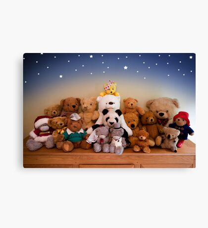 Grin & Bear It Canvas Print