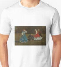 Croquet Scene by Winslow Homer Unisex T-Shirt