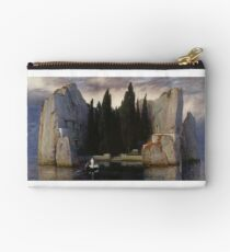 Isle of the Dead by Arnold Bocklin Studio Pouch
