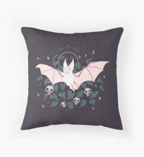Familiar - Desert Long Eared Bat Throw Pillow