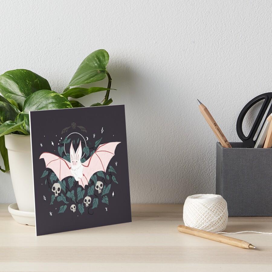 Familiar - Desert Long Eared Bat Art Board Print