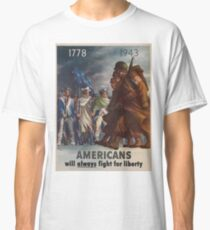 Vintage poster - World War II Classic T-Shirt