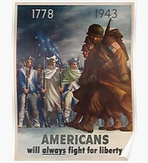 Vintage poster - World War II Poster