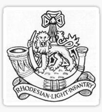 Rhodesian light infantry emblem  Sticker