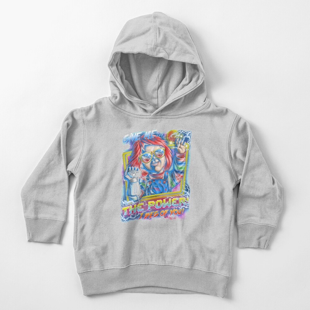Give Me the Power Toddler Pullover Hoodie
