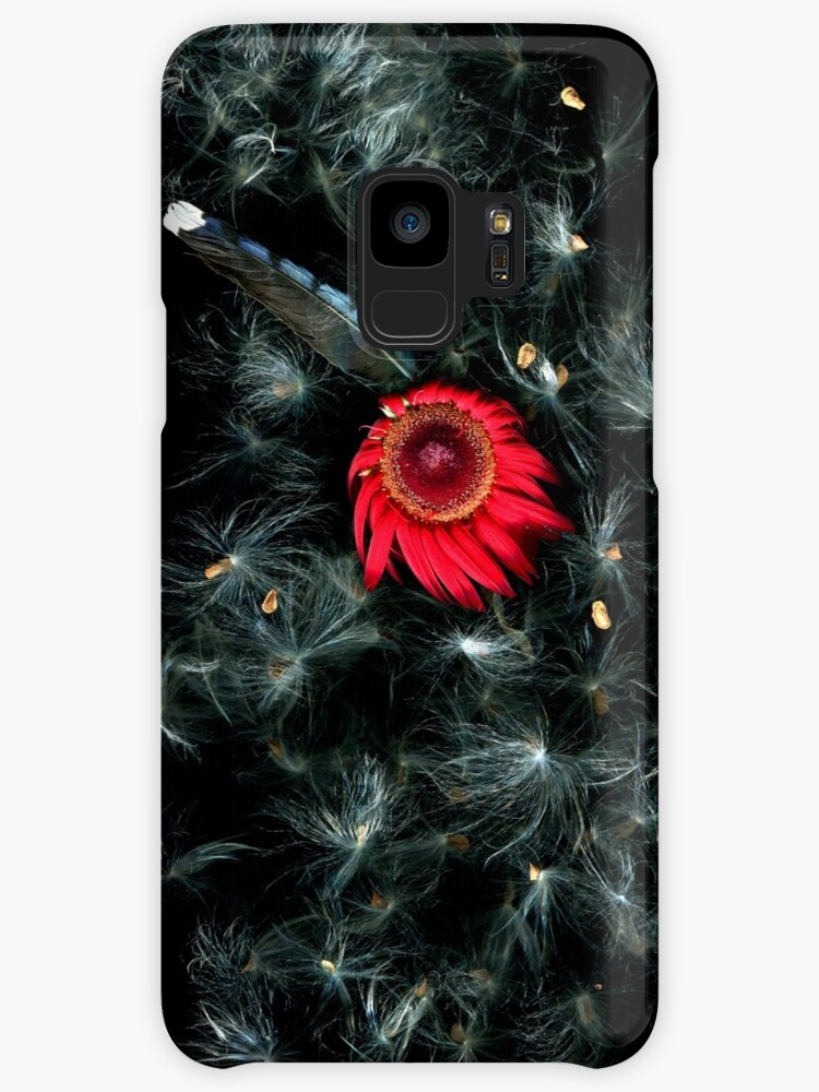 Daisy Wishes Dark Floral by LindasPhotoArt