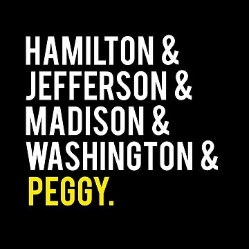 Founding Fathers... And Peggy by hamilkids