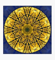 Autumn in the Fitzroy Gardens Mandala Photographic Print