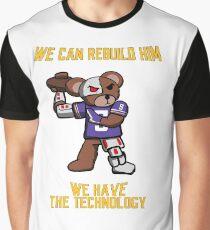 Six Million Dollar Bear Graphic T-Shirt