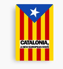 Catalonia, A New European State  Canvas Print