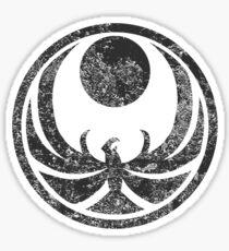 Nightingale Symbol Sticker
