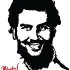 "Narcos ""Pablo Escobar"" by mqdesigns13"