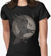 RAVEN Women's Fitted T-Shirt