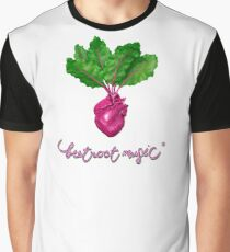 Beetroot Music Graphic T-Shirt