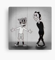 old timey chase & mikey Canvas Print