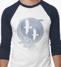 Camiseta ¾ bicolor para hombre CUERVOS DE ODIN