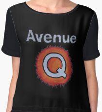 AVENUE Q Women's Chiffon Top
