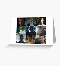 Eleven- Stranger Things Greeting Card