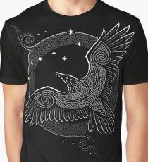 Nördlicher Rabe Grafik T-Shirt