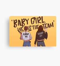 we IS the team Canvas Print