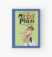 Prop Replica: Dr. Heinz Doofenshmirtz's 'My Evil Plan' Journal Hardcover Journal