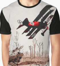 WW1 Red Baron Graphic T-Shirt