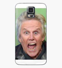 Funda/vinilo para Samsung Galaxy Gary Busey con la boca abierta