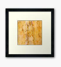 Marblelike Framed Print