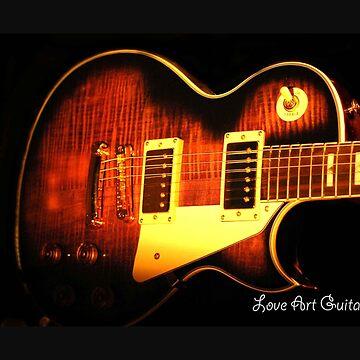 Love Art Guitars  by pandorasboxphot