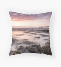 Seaweed Sunset Throw Pillow