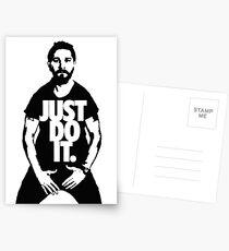Just Do It - Shia Labeouf Postcards