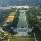 View from the top of the Washington Monument by Kathleen  Cole