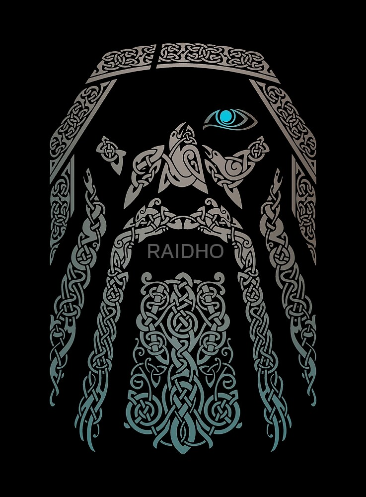 Quot Odin Quot By Raidho Redbubble