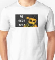 Five NIghts at Freddy's - Golden T-Shirt