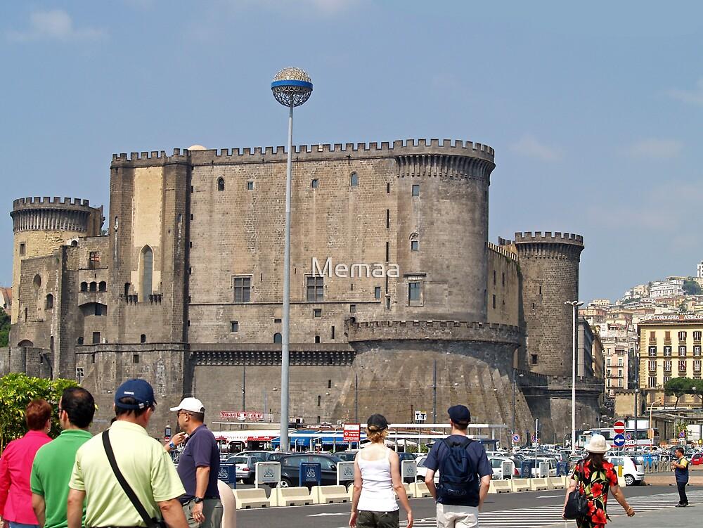 Naples Italy - Castel Nuovo by Memaa