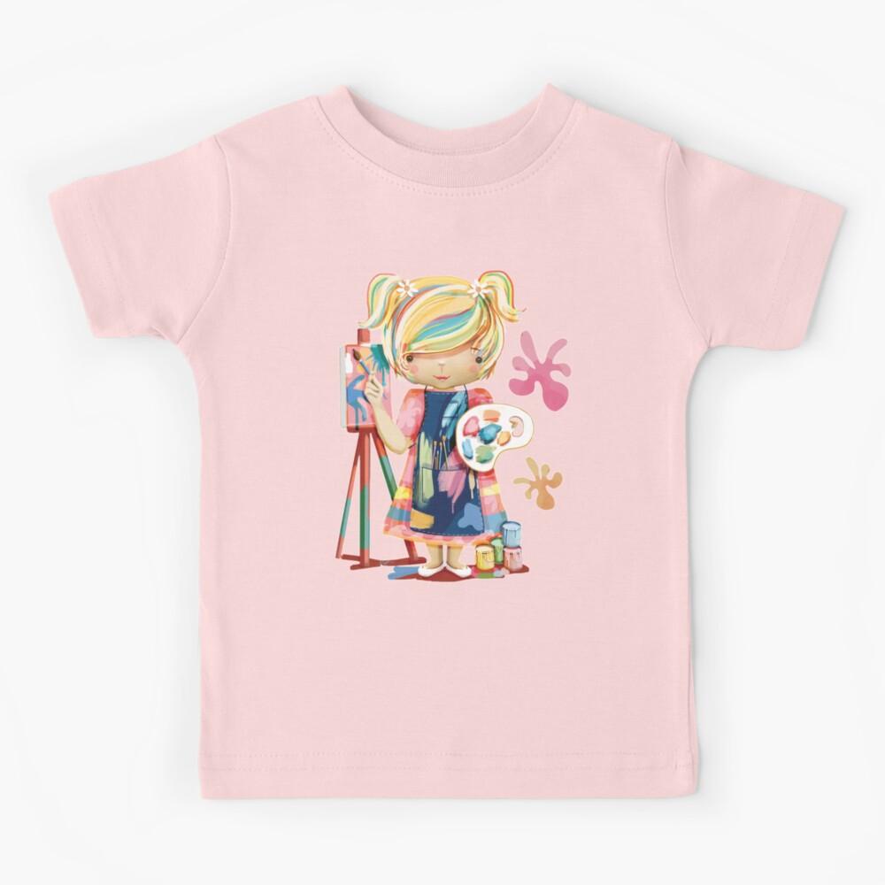 The Little Artist Kids T-Shirt