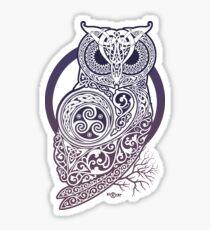 CELTIC OWL Sticker