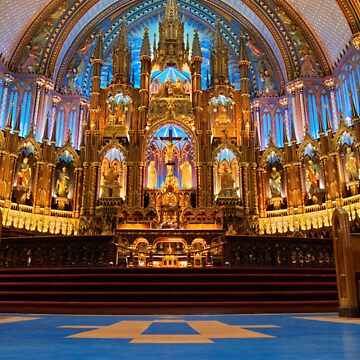 Notre Dame de Montreal I by stefanChirila