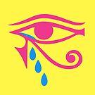 Eye of Horus Tears by deificusArt