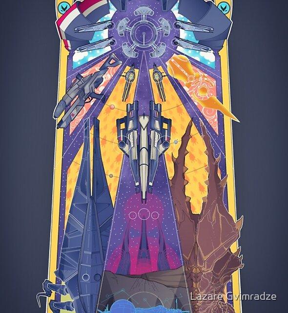 Shepard's Journey by Lazare Gvimradze