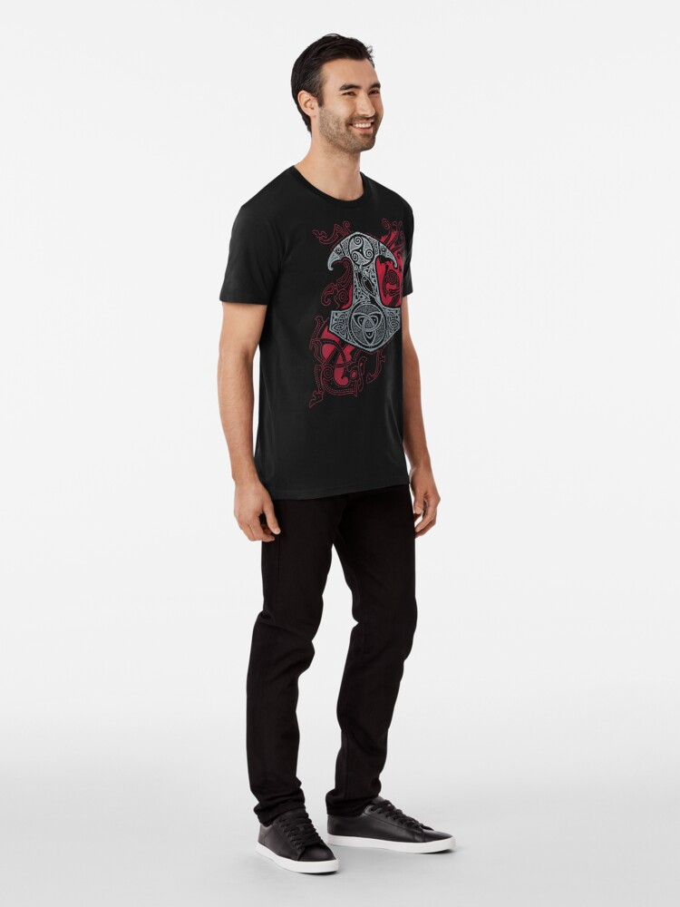 Alternative Ansicht von RAVENS MJOLNIR Premium T-Shirt
