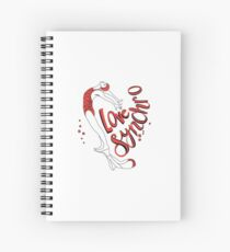 Love Synchro - Synchronized Artistic Swimming Spiral Notebook