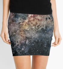 Postcards From Space IV Mini Skirt