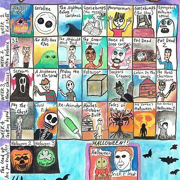 Sucky Halloween Advent Calendar by MilleniumIbis