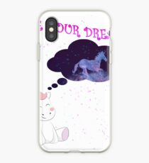 Unicorn Live your dreams Einhorn Dream Königin iPhone-Hülle & Cover