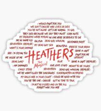 Heather! Sticker