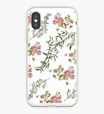 William Morris style floral.  iPhone Case