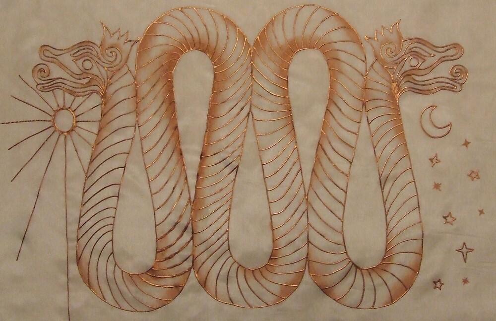 bronze dragon by leesamac